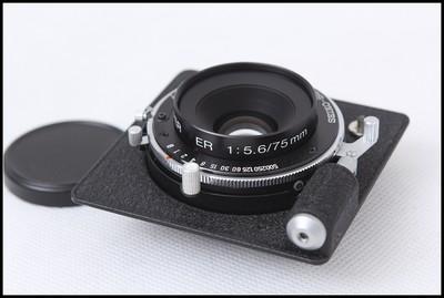 骑士HORSEMAN ER75/5.6 6X9座机镜头