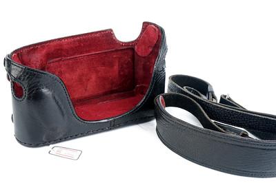 【意大利LUIGI】徕卡 M8/M9用皮套带小手柄款连背带#30657