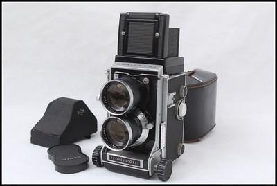 玛米亚C33+135/4.5+眼平取景器 双反套机