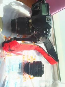 含镜头 超级富士S5 pro 人像王 数码单反相机。尼康卡口。