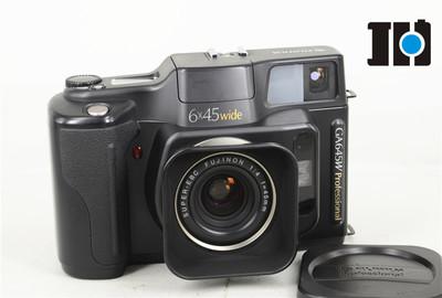 Fujifilm富士 GA645W 旁轴胶片自动对焦 EBC 45/4 广角 带遮光罩