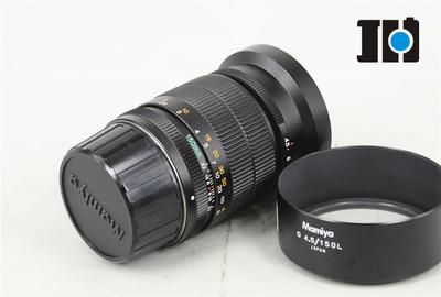 Mamiya 玛米亚 6mf 6型专用 G150/4.5 人像镜头 带遮光罩