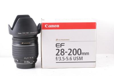 97/佳能 EF 28-200mm f/3.5-5.6 USM (带原厂遮光罩 带包装)