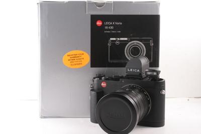 98/徕卡 X Vario (Typ 107) +原装取景器+光罩+手柄 带包装
