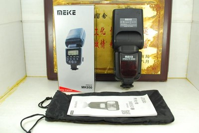 佳能口 美科 MK950 闪光灯 机顶灯 TTL自动同步 频闪闪光