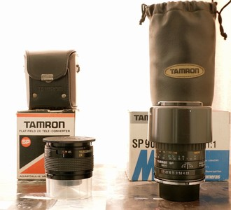 其他9.8腾龙sp90MMF2.8微距全包装 三无 9.5腾龙sp2x镜带包装