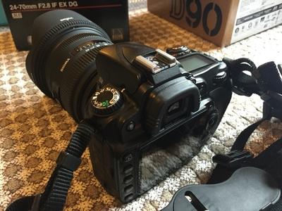 尼康 D90 适马24 70二代 小野人六百万摄影包