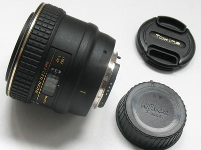 成色极好原装图丽AT-X PRO 35 F2.8 DX MACRO 尼康口带遮光罩4852