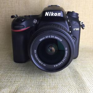 尼康 D7100 中级别数码单反相机带18-55防抖镜头95新