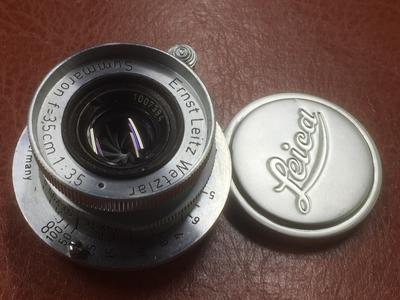 成色新的徕卡Summaron35/3.5镜头