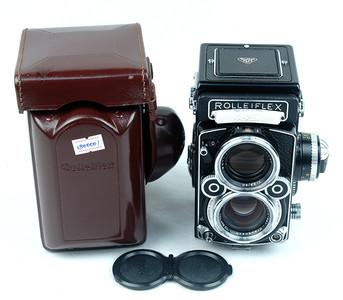 禄来Rolleiflex 2.8F Xenotar 白脸 极上品!挺新的!