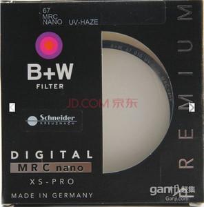 99成国行B+W 67MM XS PRO NANO UV镜