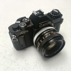 CANON 佳能 AV-1+50mm F1.8套机 135胶片单反相机 黑色 入门级