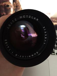 德产Leica SUMMILUX-R 80 mm f/1.4后期E67版本