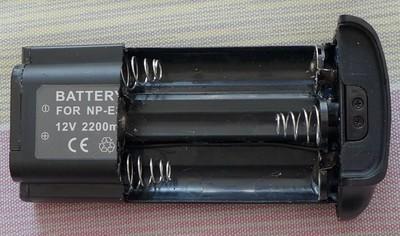 佳能1DS2 1D2系列NP-E3电池盒使用18650锂电池