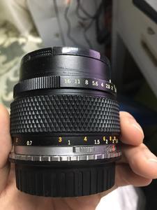 出奥林巴斯55mm f1.2 手动镜头(含佳能转接环)