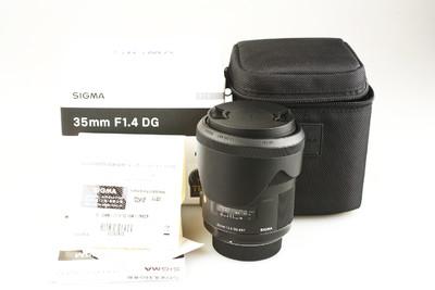 95新 适马 35mm f/1.4 DG HSM(A) (尼康口) #7870