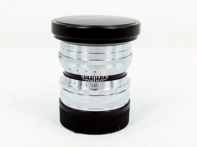 华瑞摄影器材-福伦达 NOKTON 50mm f/1.5 ASPH VM银色