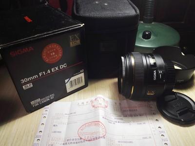 适马 30mm f/1.4 EX DC HSM(佳能卡口)