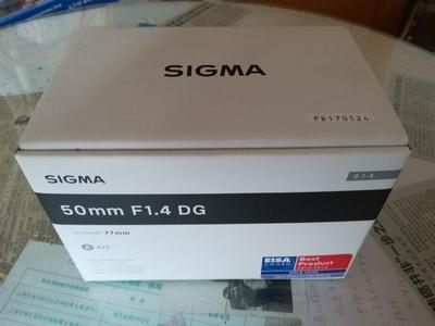 自用适马 50mm f/1.4 DG HSM(A)在保