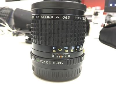 SMC PENTAX-A 645 F3.5 150mm