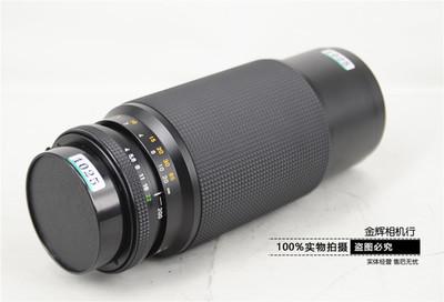 Contax康泰时 YC 80-200/4 远摄变焦 手动对焦 实体现货 可转接用