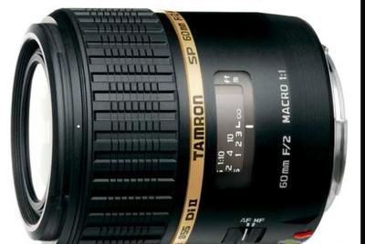 腾龙 SP AF 60mm f/2 Di II Macro 1:1(G005)佳能卡口