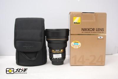 99新尼康 AF-S  14-24/2.8G ED带包装(BH04080004)【已成交】