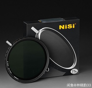 耐司nisi 可调ND减光镜 ND4-500 全新未开封,62-82mm口径
