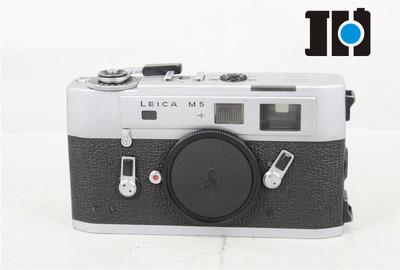leica/徕卡 LEITZ M5 m5 专业旁轴胶片相机 银色 实体现货