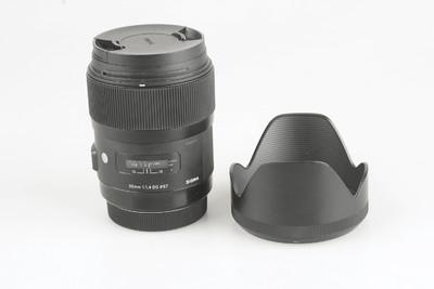 98新 适马 35mm f/1.4 DG HSM(A)佳能口