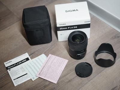 适马 35mm f/1.4 DG HSM(A) 索尼口