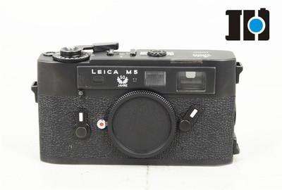 leica/徕卡 LEITZ M5 m5 专业旁轴胶片相机 黑色50周年纪念版
