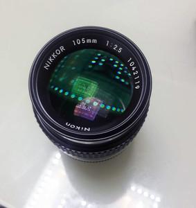 尼康105/2.5手动镜头