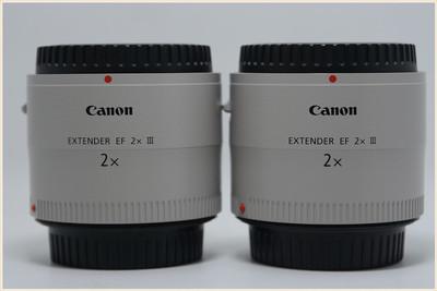 佳能 Extender EF 2x III 增倍镜 三代增距镜