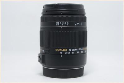 适马 18-250mm f/3.5-6.3 DC Macro OS HSM 佳能口