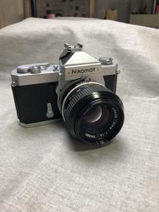 Nikomat 尼康马特 50mm/1.4大光圈胶片 胶卷单反相机