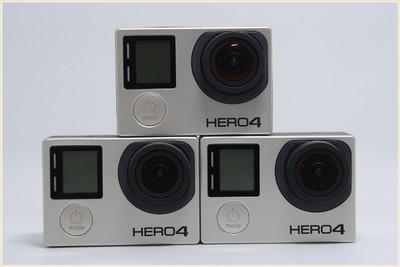 GoPro Hero4 Black 黑狗4 防水高清摄像机