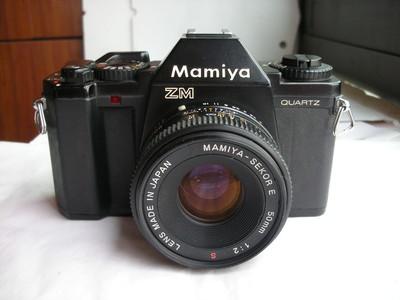 很新玛米亚ZM经典单反相机带50mmf2镜头
