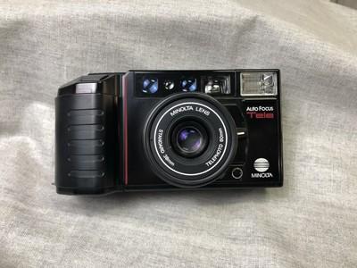 美能达 MINOLTA AF-Tele双定焦 傻瓜机 胶片相机