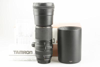95新 腾龙 SP AF 200-500mm f/5-6.3 Di LD IF(A08)索尼卡口