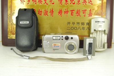 三星 DIGIMAX V5 卡片机 家用便携数码相机 CCD感光元件