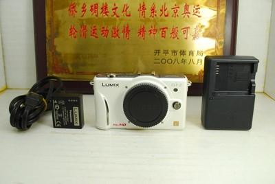 97新 Panasonic/松下 GF2 微单数码相机 千万像素 高清摄像