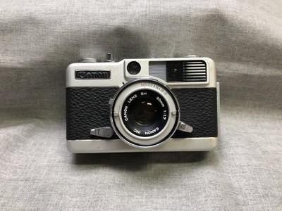 佳能 Canon demi EE17 大光圈定焦 半格相机 复古相机