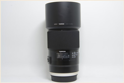 腾龙SP 90mm f/2.8 Di MACRO 1:1 VC USD(F017)佳能口