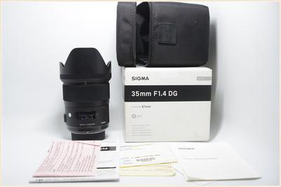 适马 35mm f/1.4 DG HSM(A)尼康口 大陆行货 包装齐全