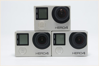 GoPro Hero4 Silver 银狗4 防水高清摄像机