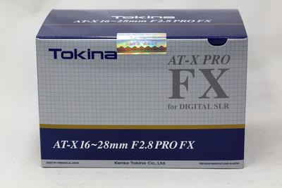 【情迷海印店】【全新 行货】图丽 AT-X 16-28/2.8 PRO FX