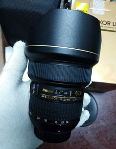 98新尼康 AF-S Nikkor 14-24mm f/2.8G ED行货包装齐全!