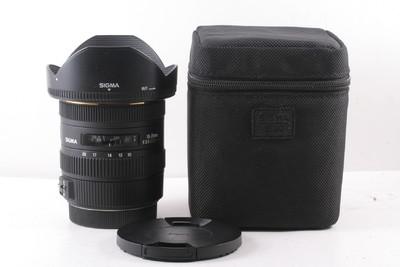 95/适马 10-20mm f/3.5 EX DC HSM 新涂层(带镜头包)佳能口